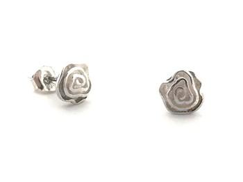 Pendientes Rose Silver