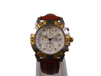 SECTOR CHRONOGRAPH TWO-TONE LEATHER 1851941027 WATCH