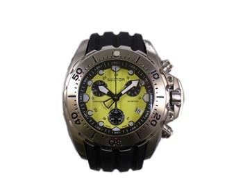 Reloj Sector Diver 600 Acero Correa caucho 2651917055
