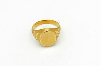 RING N 16 GOLD SEAL