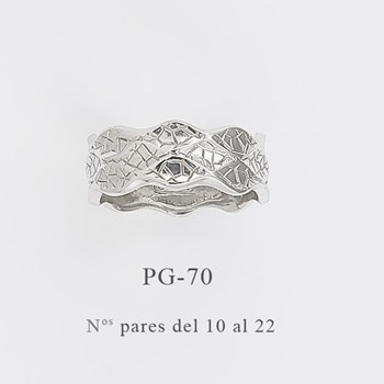 RING SILVER INSPIRATION IN THE WORK LA PEDRERA BY GAUDÍ PG-70 Finor