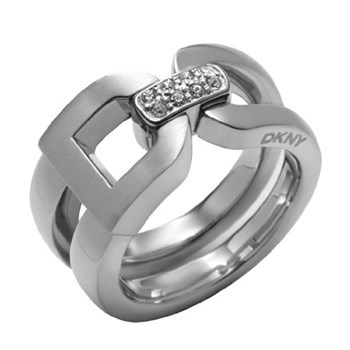DKNY NJ1508040505 STEEL RING