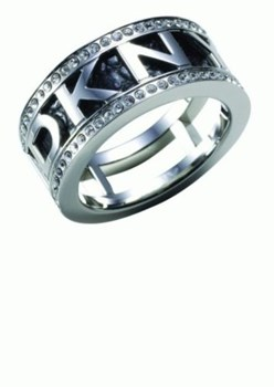 DKNY NJ1215040503 STEEL RING