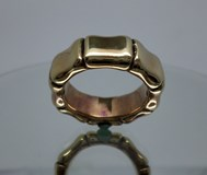 Bague en argent sterling bambou Le Carré d'or LA027AM.15