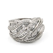RING WHITE GOLD 750 THOUSAND�SIMAS/18 KT. WITH DIMANTES IN PAV� BRILLIANT OF 1.70 KTS K1907/B09
