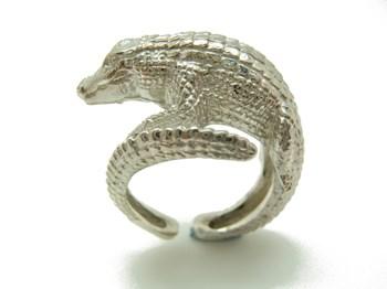 crocodile de l\'anneau argent