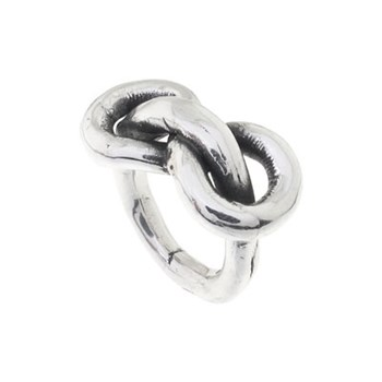 RING SMOOTH PURE SILVER LOOP PPA199 Plata Pura