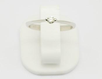 Classés en bague Solitaire or diamant SORT502 Espaijoia