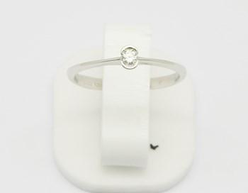 Classés en bague Solitaire or diamant SORT503 Espaijoia
