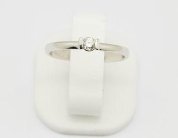 Classés en bague Solitaire or diamant SORT504 Espaijoia