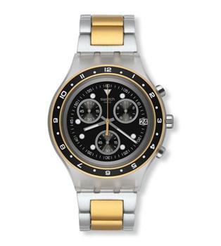 SWATCH RELÓGIO CHRONO DIAPHANE ANTENOR SVCK4076AG