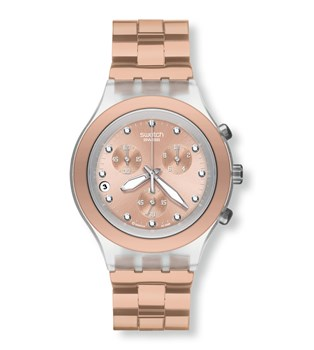 SWATCH DIAPHANE FULL - BLOODED CARAMEL SVCK4047AG watch
