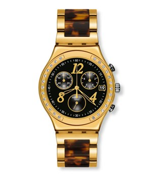 RELOJ SWATCH DREAMNIGHT 14 GOLDEN YCG405GC