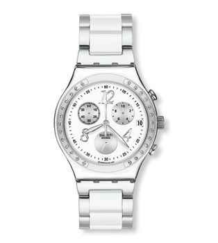 SWATCH YCS511GC DREAMWHITE WATCH