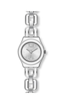 SWATCH IRONY LADY WATCH WHITE CHAIN YSS254G