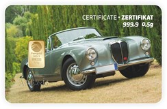 GIFT CARD GOLD AUTO-ALFA-ALT PIM