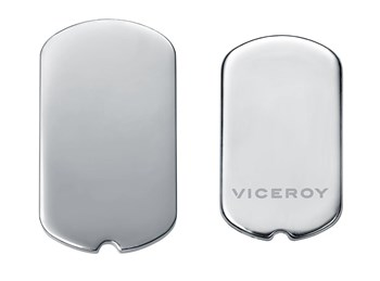 MEDAL VICEROY PLAISIR MEDALLION IN SMOOTH STEEL VMC0016-00