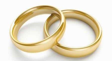 Resultado de imagen de alianzas boda